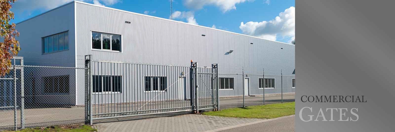 Commercial Electric Gates