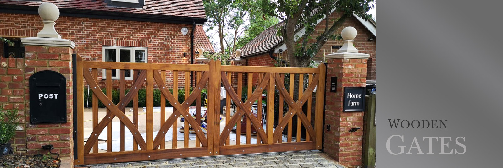 Residential Wooden Gates