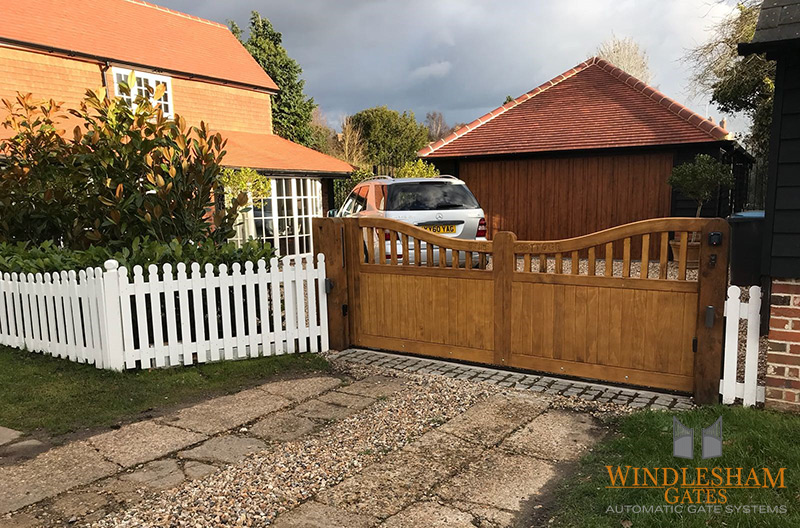 Wooden Sliding Gates