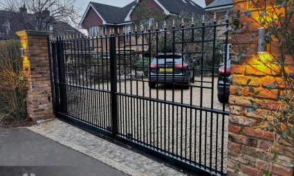 Windlesham Gates Metal Automatic Gates