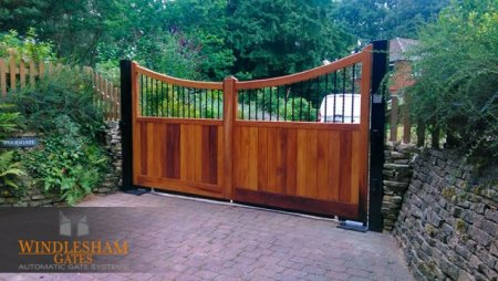Electric gates installed in Godalming