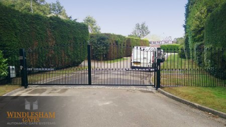 Electric gates installed in Ascot