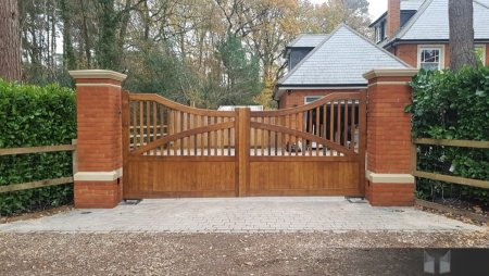 Electric gates installed in Camberley