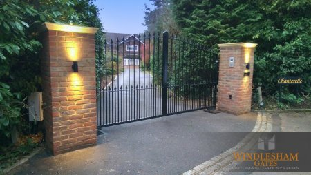 Electric gates installed in Woking