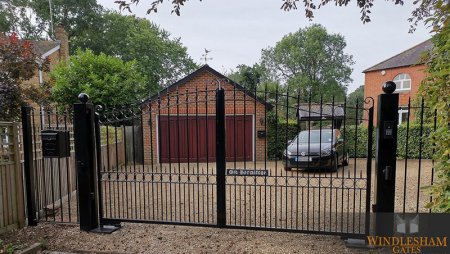 Electric gates installed in Windsor