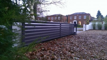 Sliding Steel Gate in Surrey